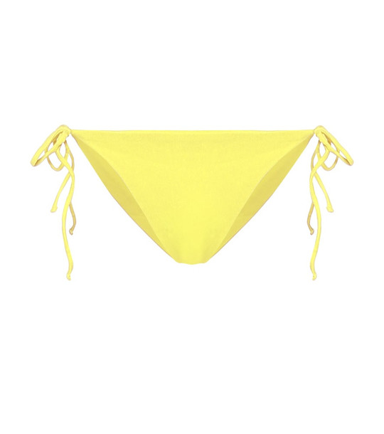 Jade Swim Ties bikini bottoms in yellow