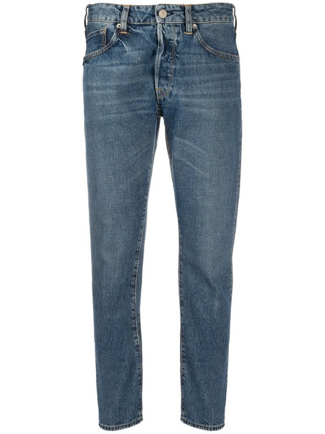 Golden Goose Jolly cropped jeans in blue
