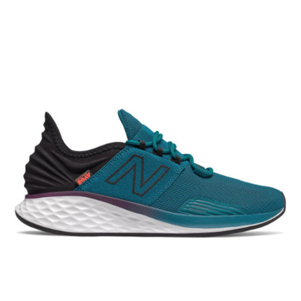 New Balance Fresh Foam Roav Boundries Men's Shoes - Blue/Black (MROAVPT)