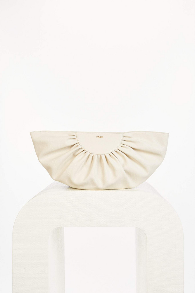 Cult Gaia Marisol Clutch - Off White (PREORDER)                                                                                               $328.00