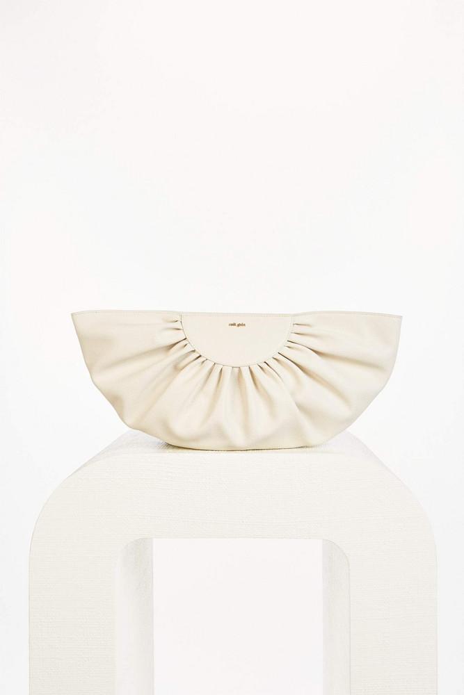 Cult Gaia Marisol Clutch - Off White (PREORDER)                                                                                               $328.00