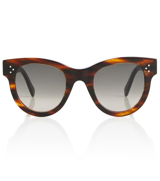 CELINE Eyewear D-frame sunglasses in brown