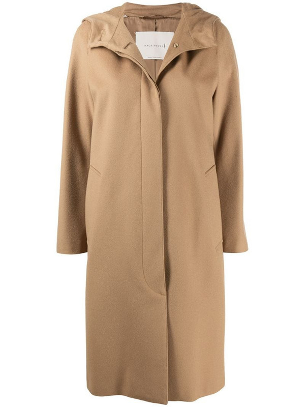 Mackintosh Chryston hooded coat in neutrals