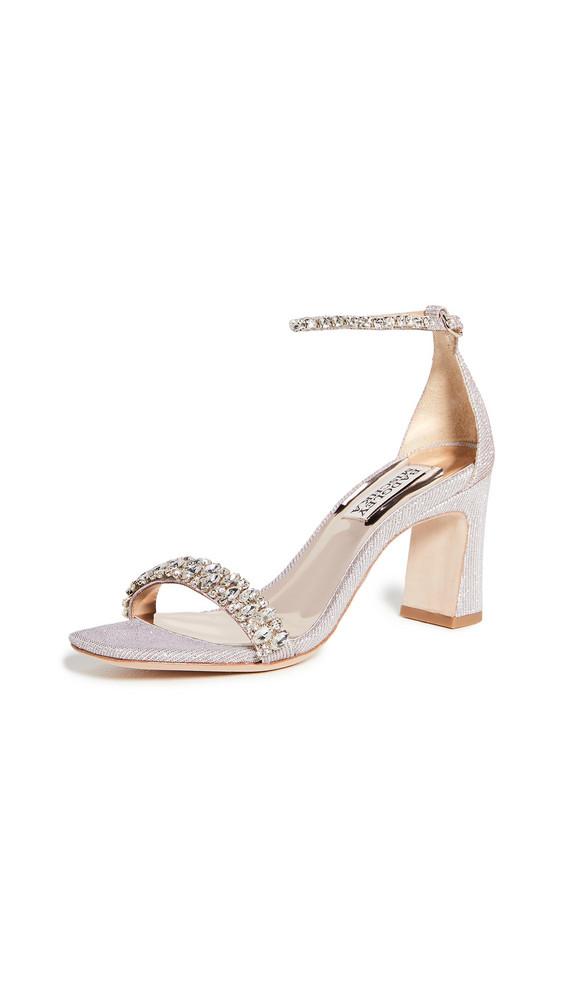 Badgley Mischka Harriet Ankle Strap Sandals in pink