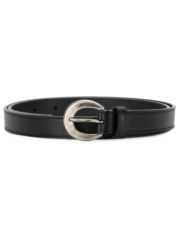Saint Laurent buckle belt in black