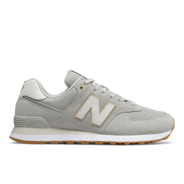 New Balance 574 Men's 574 Shoes - Grey (ML574SNI)