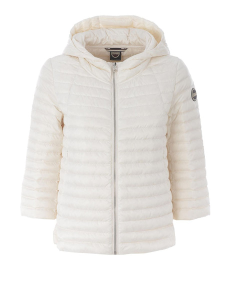 Colmar Hooded A-line Off White Puffer Jacket 21771mq233