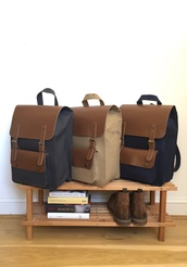 bag,canvas leather backpack,canvas backpack,canvas rucksacks