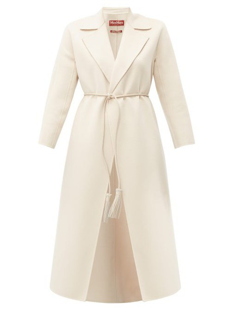 Max Mara Studio - Oncia Coat - Womens - Cream