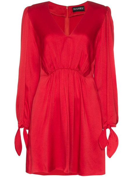 Haney Joplin dress in red