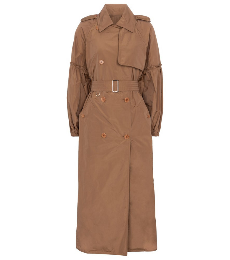 Max Mara Sabrina double-breasted trench coat in beige
