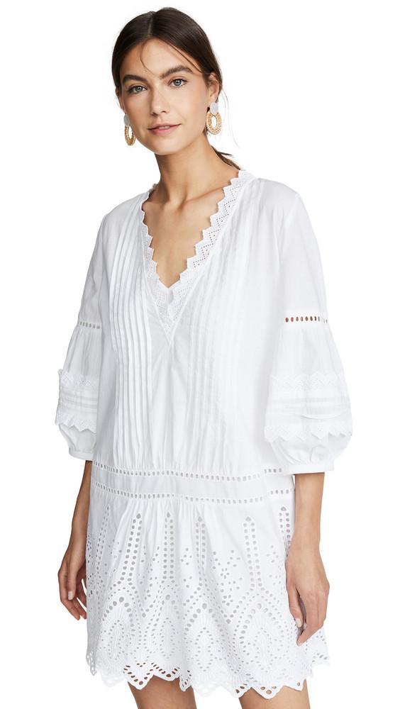 Club Monaco Torynt Dress in white