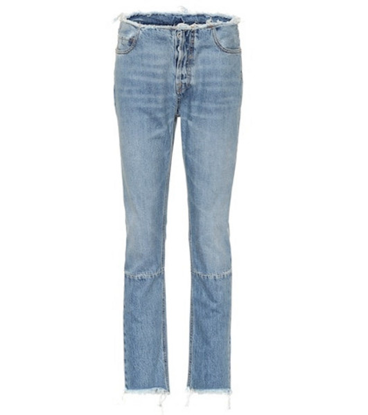 Unravel High-rise slim jeans in blue