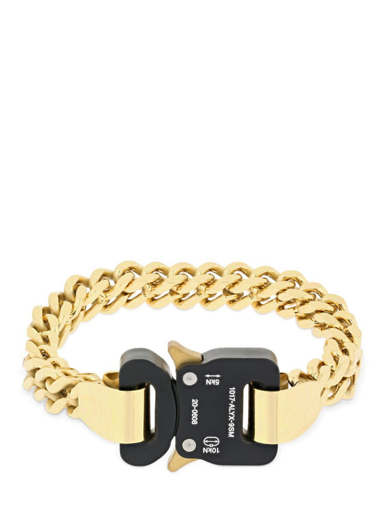 1017 ALYX 9SM Cubix Chain Bracelet in gold