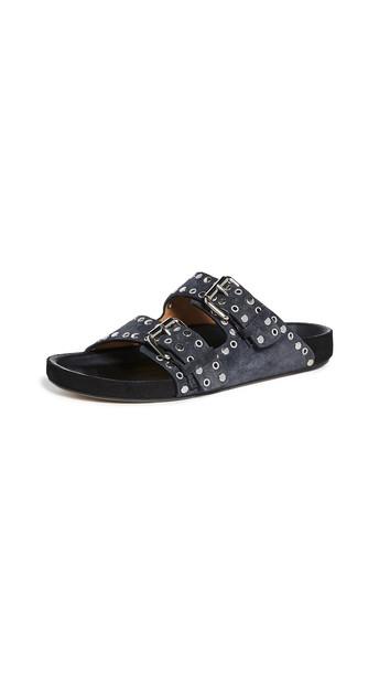 Isabel Marant Lennyo Sandals in black