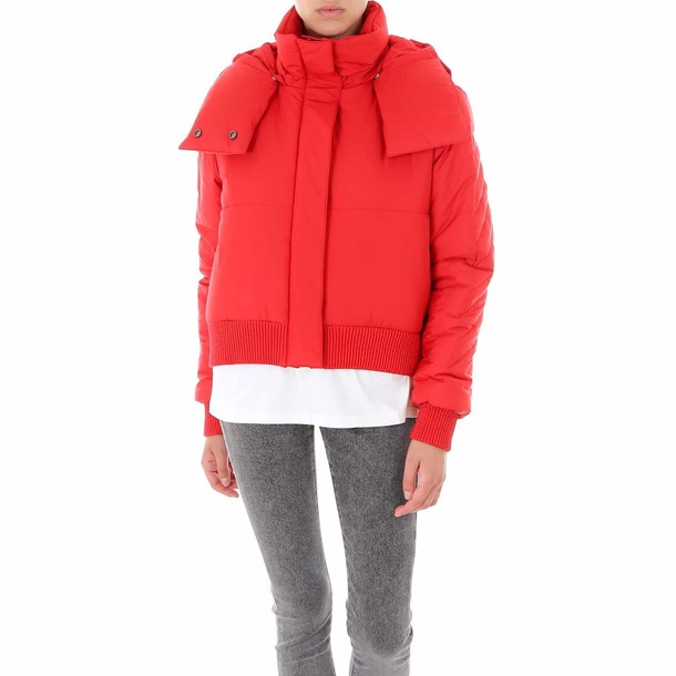 Off-White Down Jkt Jacket in red