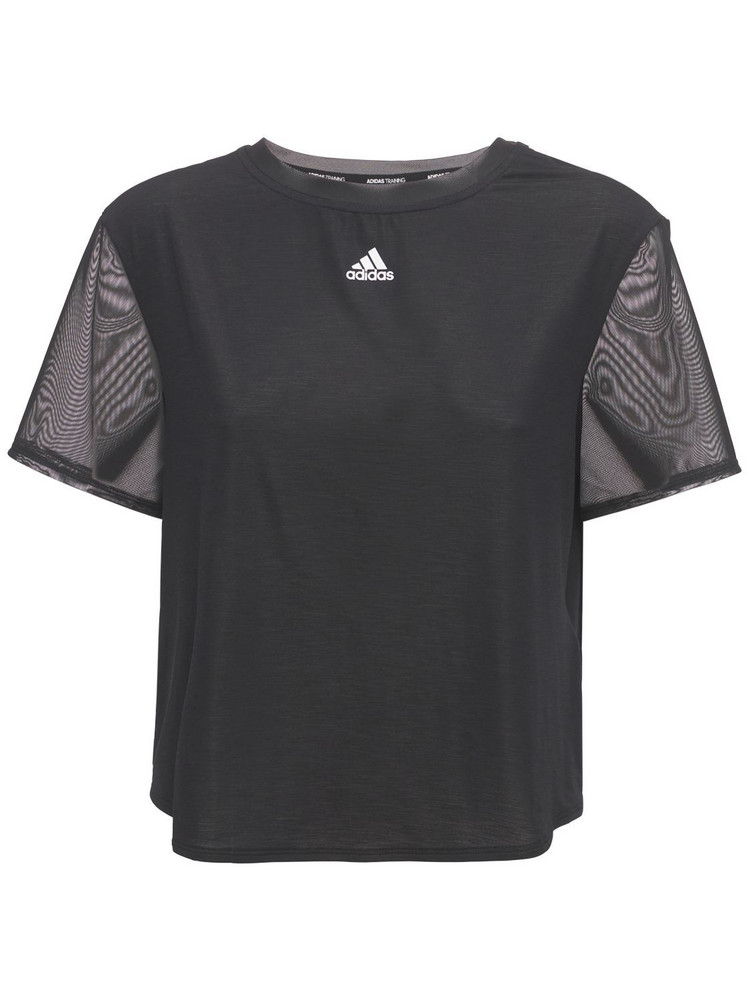 ADIDAS PERFORMANCE Dance T-shirt in black