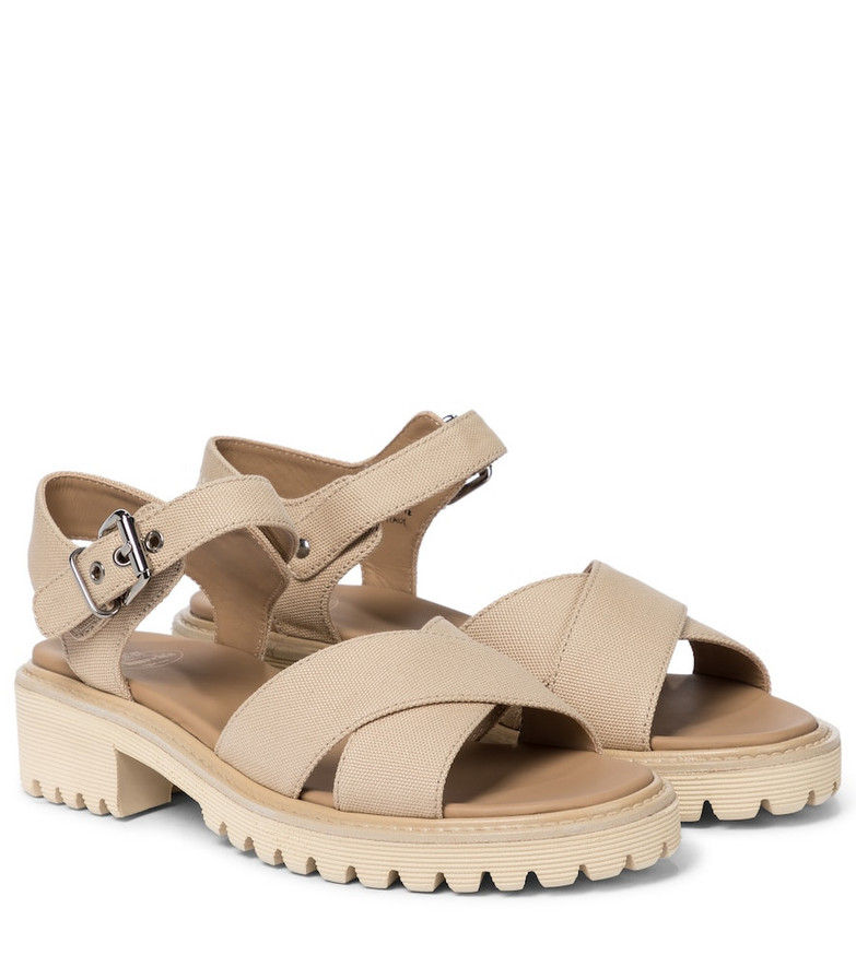 Church's Gaia canvas sandals in beige