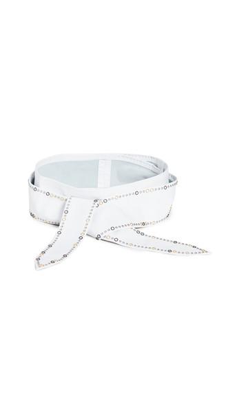 IRO Aimo Belt in white