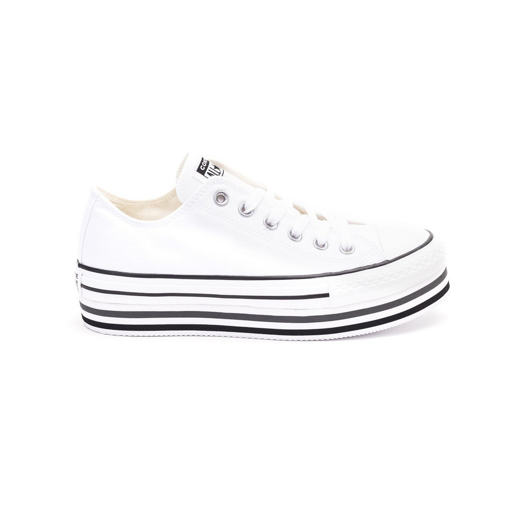 Converse Converse Chuck Taylor Platform Layer Ox Sneakers in white