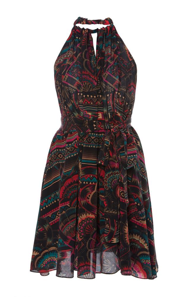 Chufy Illari Printed Broadcloth Halterneck Dress in print