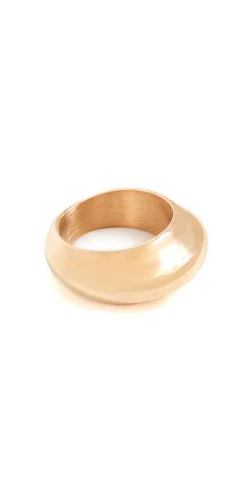 SHASHI Romeo Ring in gold