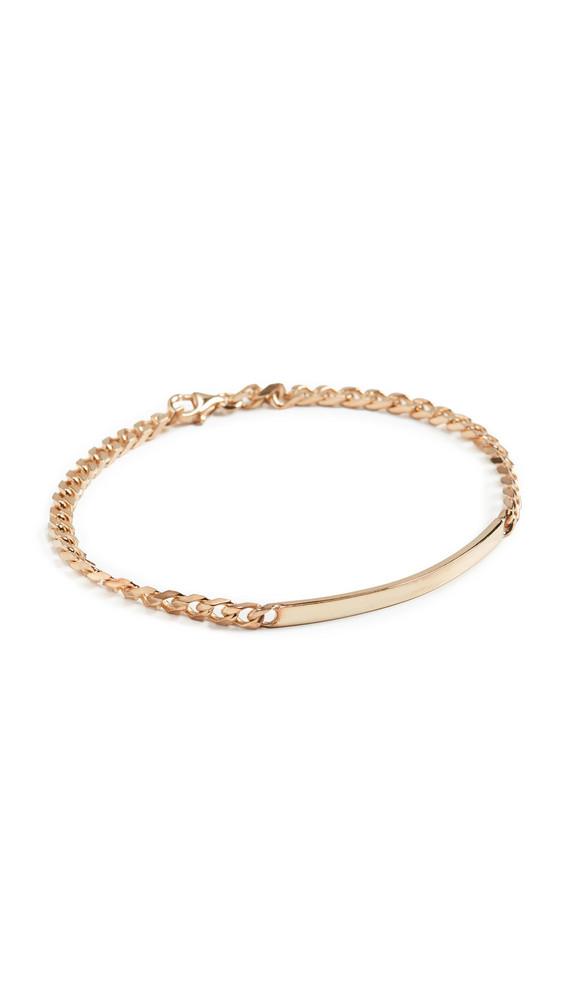 Miansai ID Chain Bracelet in gold