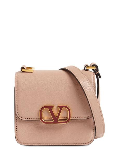 VALENTINO GARAVANI Vsling Micro Grained Leather Bag in rose