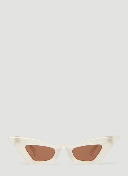 Kuboraum Mask Y7 Cat-Eye Sunglasses in Brown size One Size