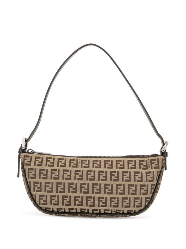 Fendi Pre-Owned Zucchino mini bag in brown