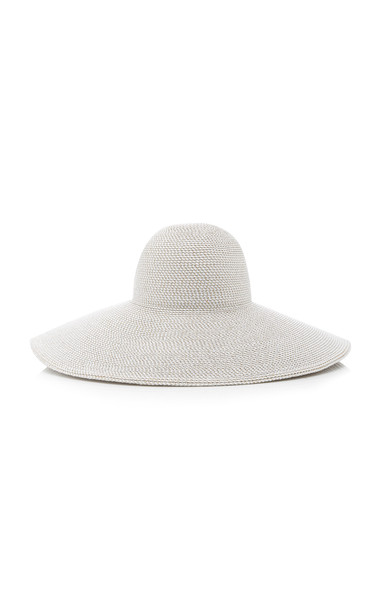 Eric Javits Floppy Woven Sun Hat in white