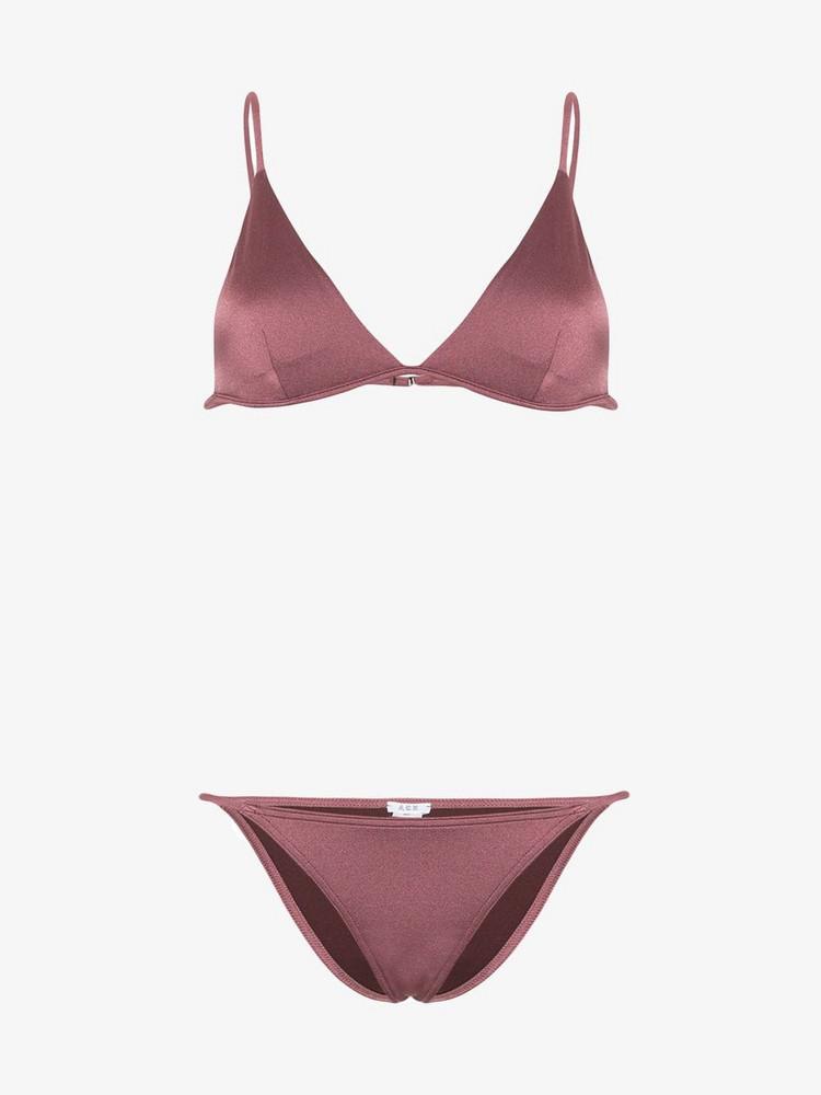 Ack Fine bikini in brown