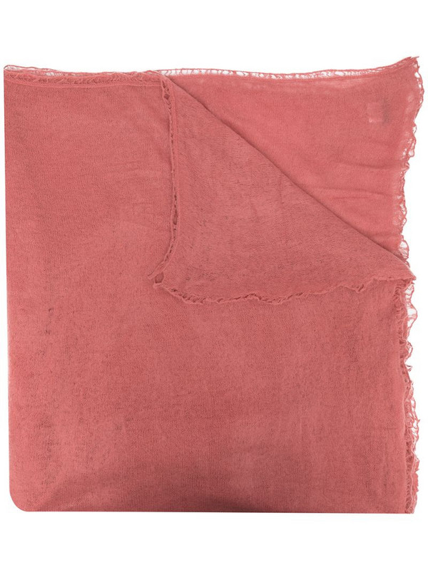 Warm-Me Nomad cashmere scarf in pink