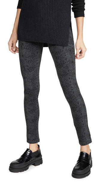 Splendid French Terry Leggings in charcoal