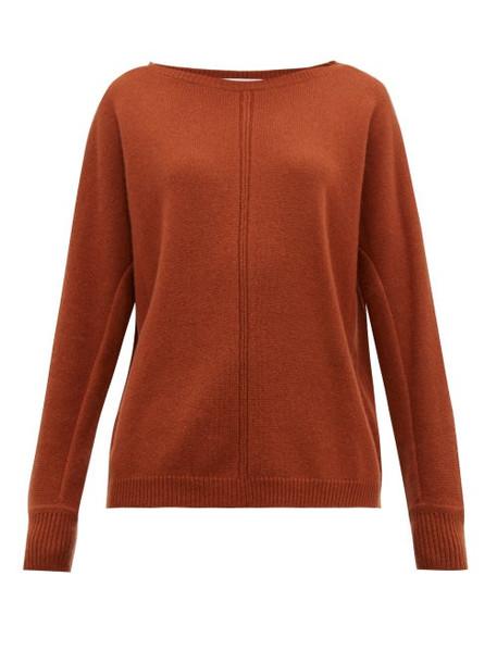 Max Mara - Masque Sweater - Womens - Dark Brown
