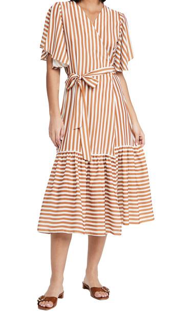 DIARRABLU Yael Dress in coral