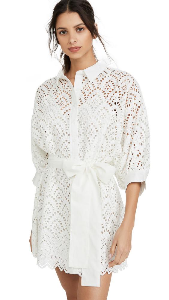 SUNDRESS Florine Dress in white