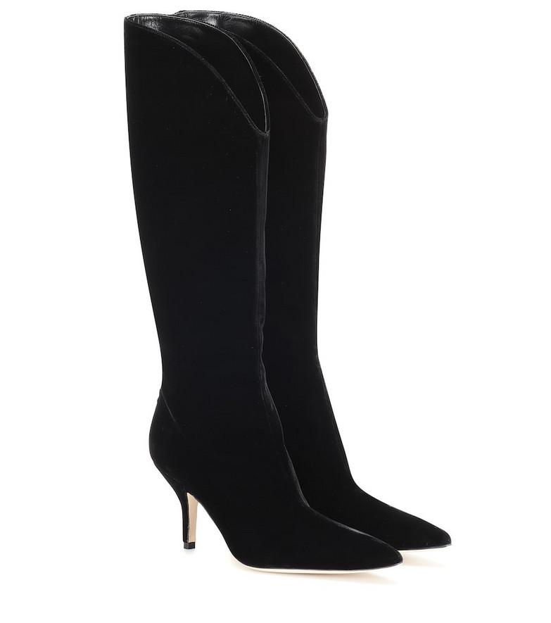 Magda Butrym England suede boots in black