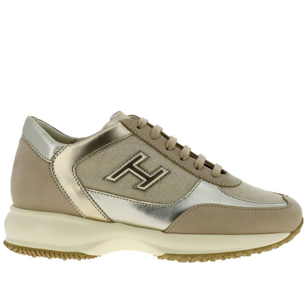 Hogan Sneakers Shoes Women Hogan in beige