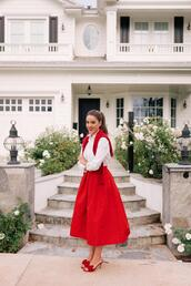 gal meets glam,blogger,shirt,sweater,skirt,shoes
