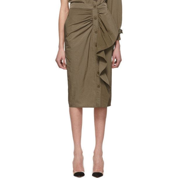 Max Mara Brown Zeno Skirt