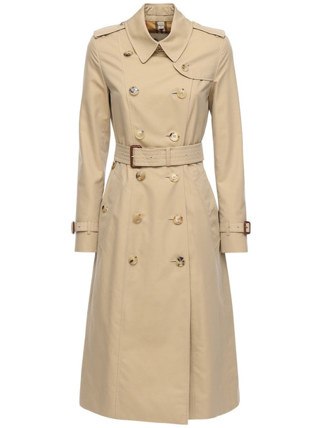 BURBERRY Long Chelsea Heritage Trench Coat in beige