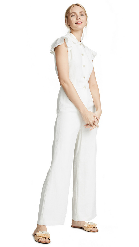 LAVEER Dylan Jumpsuit in white