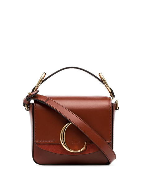 Chloé mini Chloé C bag in brown