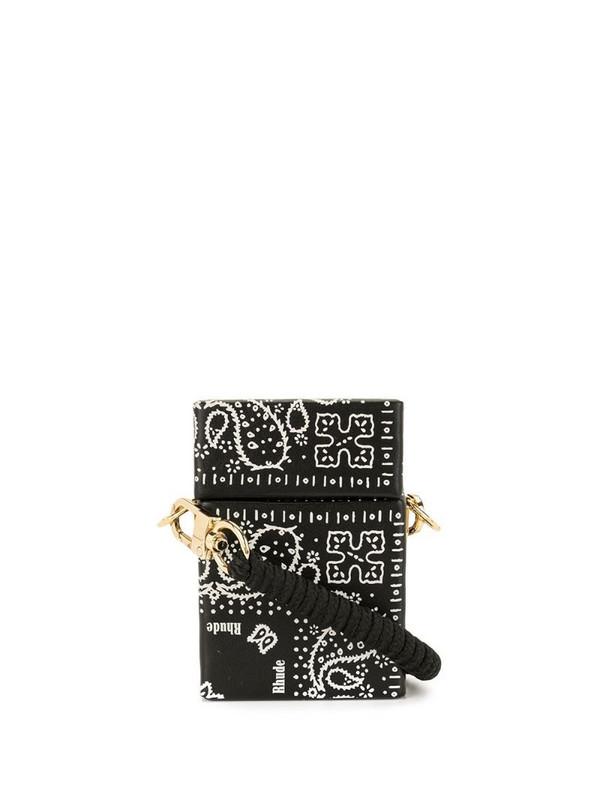 Rhude small Cig crossbody bag in black