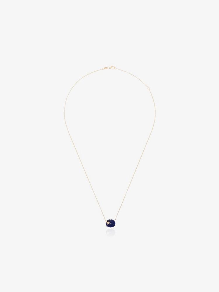 Andrea Fohrman Galaxy Lapis necklace in blue / gold