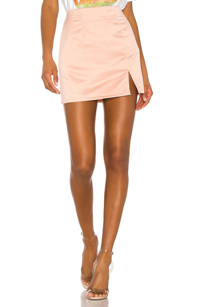 superdown Dillon Mini Skirt in pink