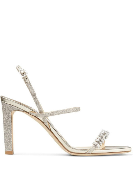 Jimmy Choo Meira 85mm sandals in neutrals