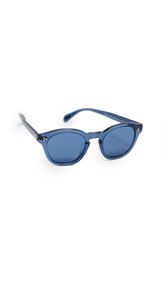 Oliver Peoples Eyewear Boudreau L.A. Sunglasses in blue