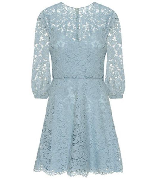 Valentino Lace minidress in blue